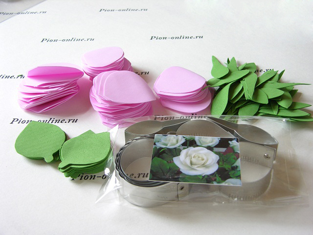 Фоамиран цветы мастер класс фото